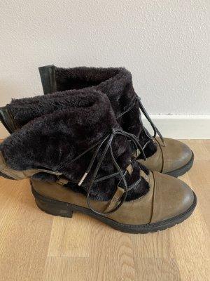 Radikal Futrzane buty Wielokolorowy