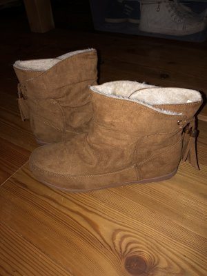 Winter Boots brown-camel