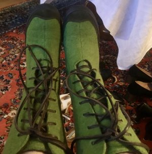 Patagonia Lace-up Boots forest green
