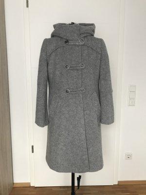 Betty Barclay Wollen jas lichtgrijs