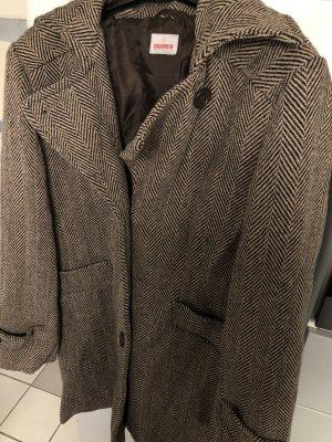 Colors of the world Cappotto invernale marrone chiaro-marrone-nero