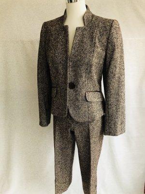 1.2.3 Paris Trouser Suit dark brown-natural white