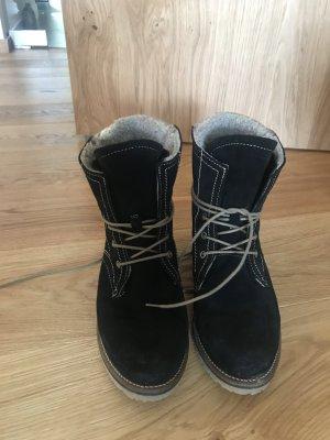Tamaris Bottes de neige brun foncé