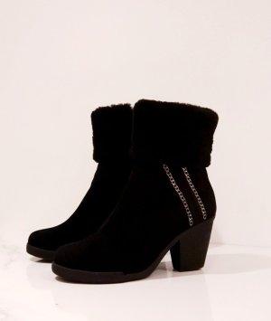 Winterboots / Ankle Boots / Stiefel / Stiefeletten / Winterschuhe / Boots / Leder / Wildleder