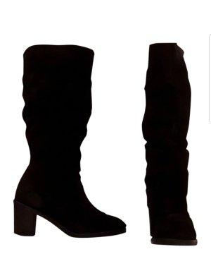 Winterboots / Klassische Stiefel / Winterschuhe / Boots / Leder /  / Rauleder