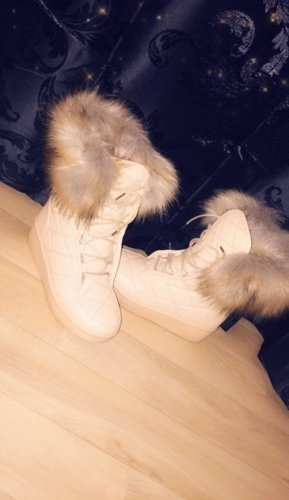 Snow Boots nude-light brown