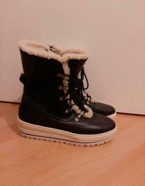 Tamaris Snow Boots white-black