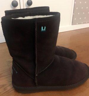 Snow Boots dark brown