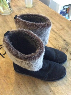 Toms Short Boots black-grey brown