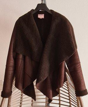 Romeo & Juliet Couture Giacca invernale marrone-marrone scuro