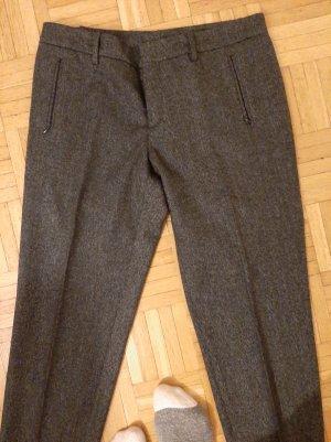 Pantalone di lana grigio scuro