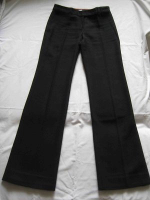 Mango Pantalone di lana nero Cotone