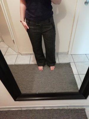 edc by Esprit Low-Rise Trousers taupe-black mixture fibre