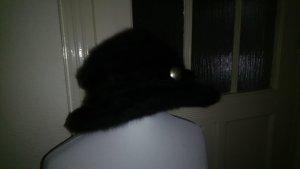 Regenhoed zwart