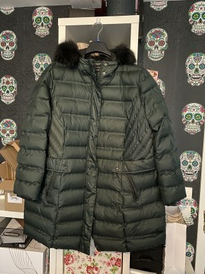 Yessica Winter Jacket dark green-black