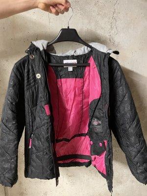 Etirel Giacca invernale nero-rosa