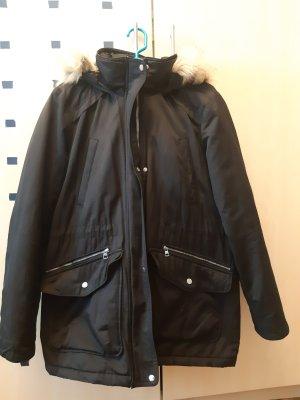 Bershka Winter Jacket black