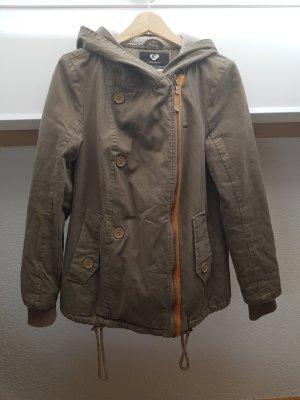 Ragwear Winter Jacket grey brown