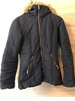 H&M Winter Jacket dark blue