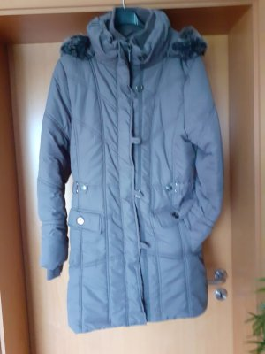 Caro Quilted Coat green grey