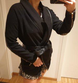 Pimkie Veste oversize noir tissu mixte