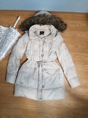 C&A Kurtka zimowa biały-jasnobeżowy