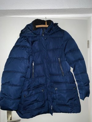Abrigo acolchado azul