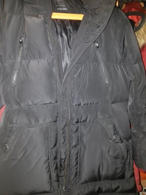 Only Abrigo de invierno negro