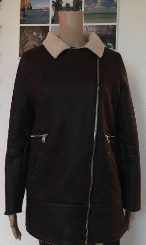 Ann Christine Outdoor Jacket black-natural white