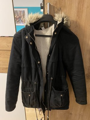 H&M Divided Winter Coat multicolored