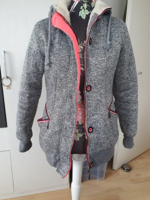 Amazone Winter Jacket grey-pink
