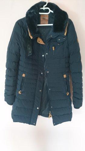 Anonymus &Famous Płaszcz zimowy ciemnoniebieski