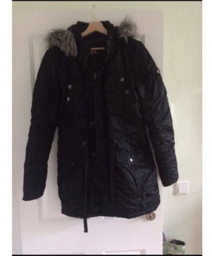 anonymous&famous Winter Jacket black