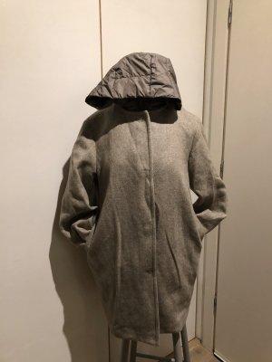 Jan Mayen Giacca invernale marrone-grigio