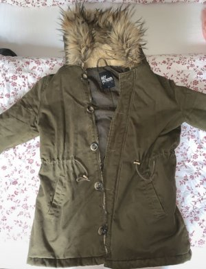 My Holly's Fake Fur Jacket khaki