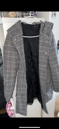 Sinsay Abrigo con capucha multicolor