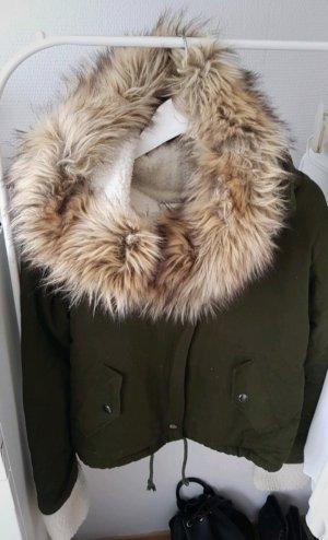 Sheinside Winter Jacket khaki
