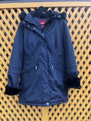 Wellensteyn Kurtka zimowa czarny-ciemnoniebieski