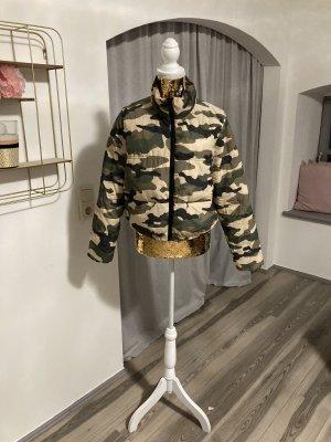 Winterjacke camouflage