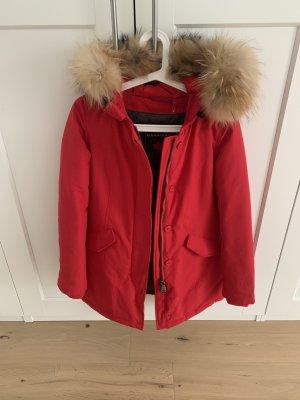 Canadian Classics Fur Jacket red
