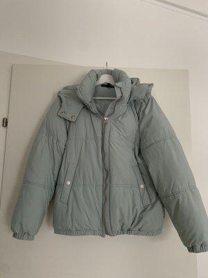 Zara Kurtka zimowa jasnoniebieski