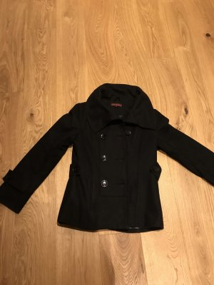 Review Giacca di lana nero