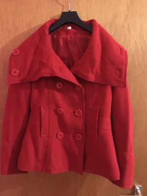 H&M Divided Kurtka zimowa czerwony