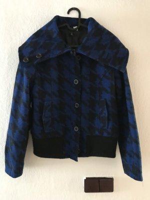 H&M Divided Kurtka zimowa niebieski-czarny