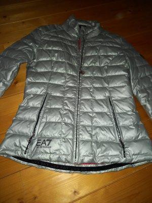 Emporio Armani Down Jacket silver-colored-neon red mixture fibre