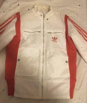 Adidas Veste d'hiver blanc-rouge