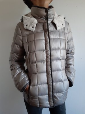 Milestone Winter Jacket gold-colored-grey brown