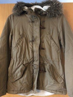 H&M Kurtka zimowa szaro-brązowy