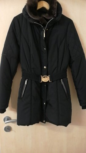 Winterjacke, Größe 38, schwarz