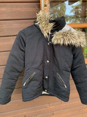 Hollister Kurtka zimowa ciemnoniebieski